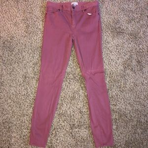 Express Mid Rise Thornberry Stretch Leggings